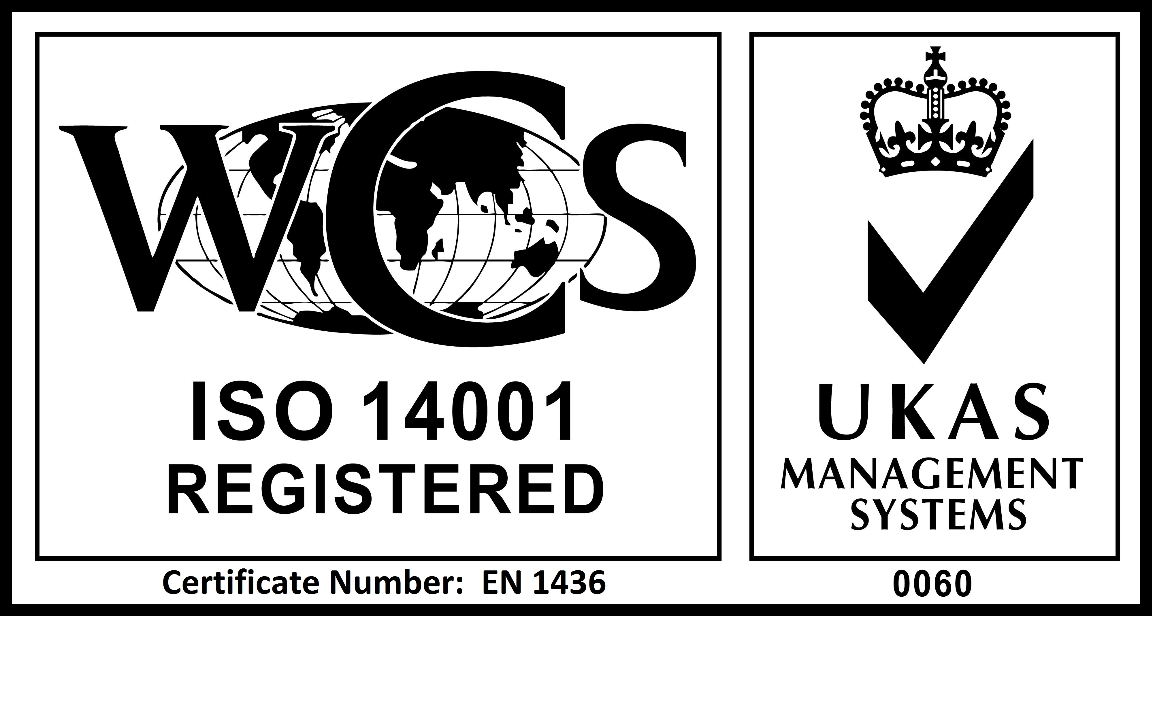 MSG WCS ISO 14001 logo